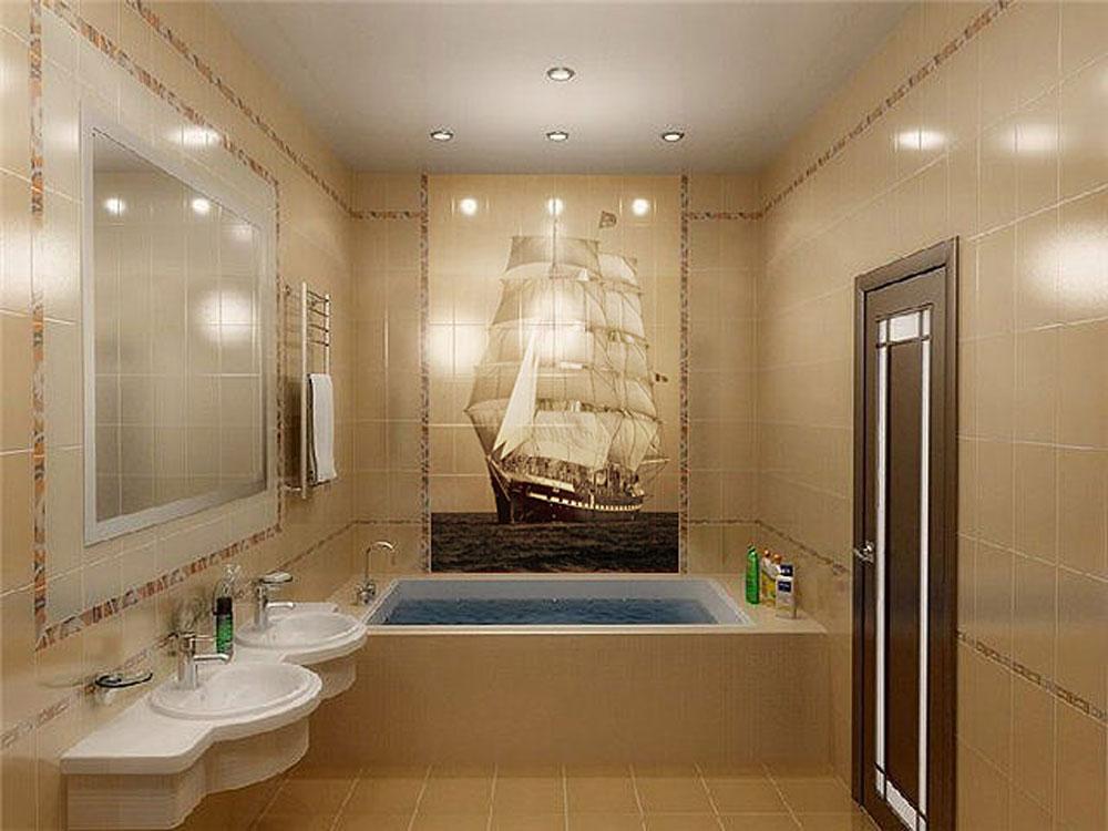 Дизайн ванной комнаты для квартир