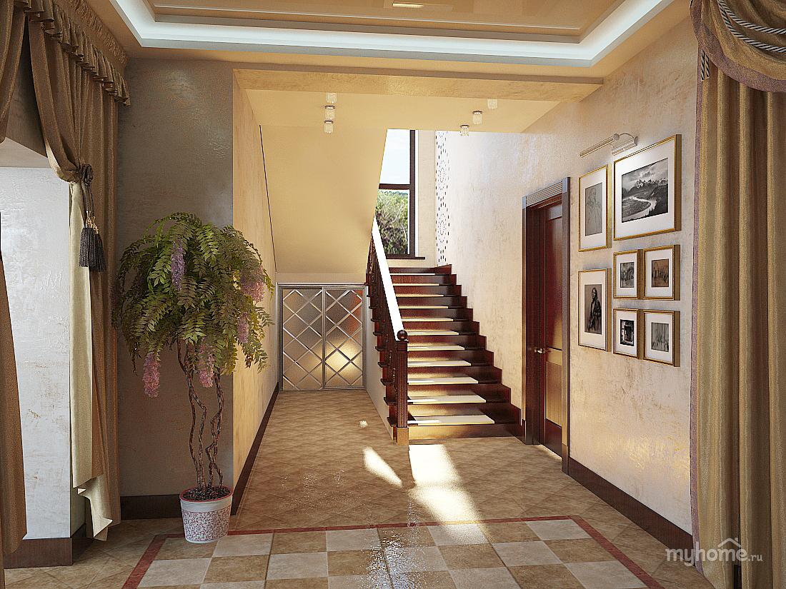 Прихожие интерьер дизайн в частном доме