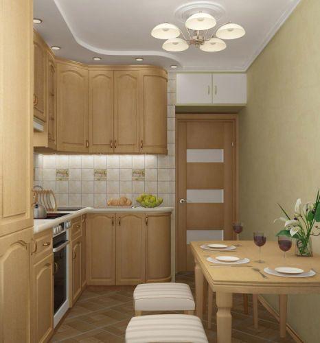 Оформление кухни в маленькой квартире некоторой
