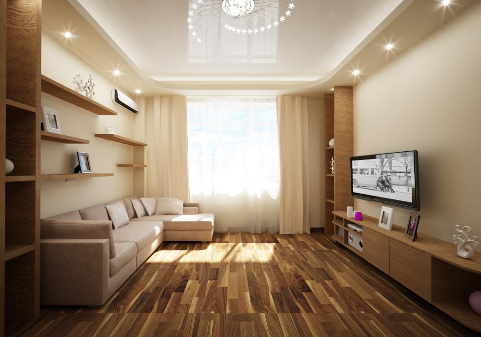Дизайн зала 18 кв м в квартире недорого