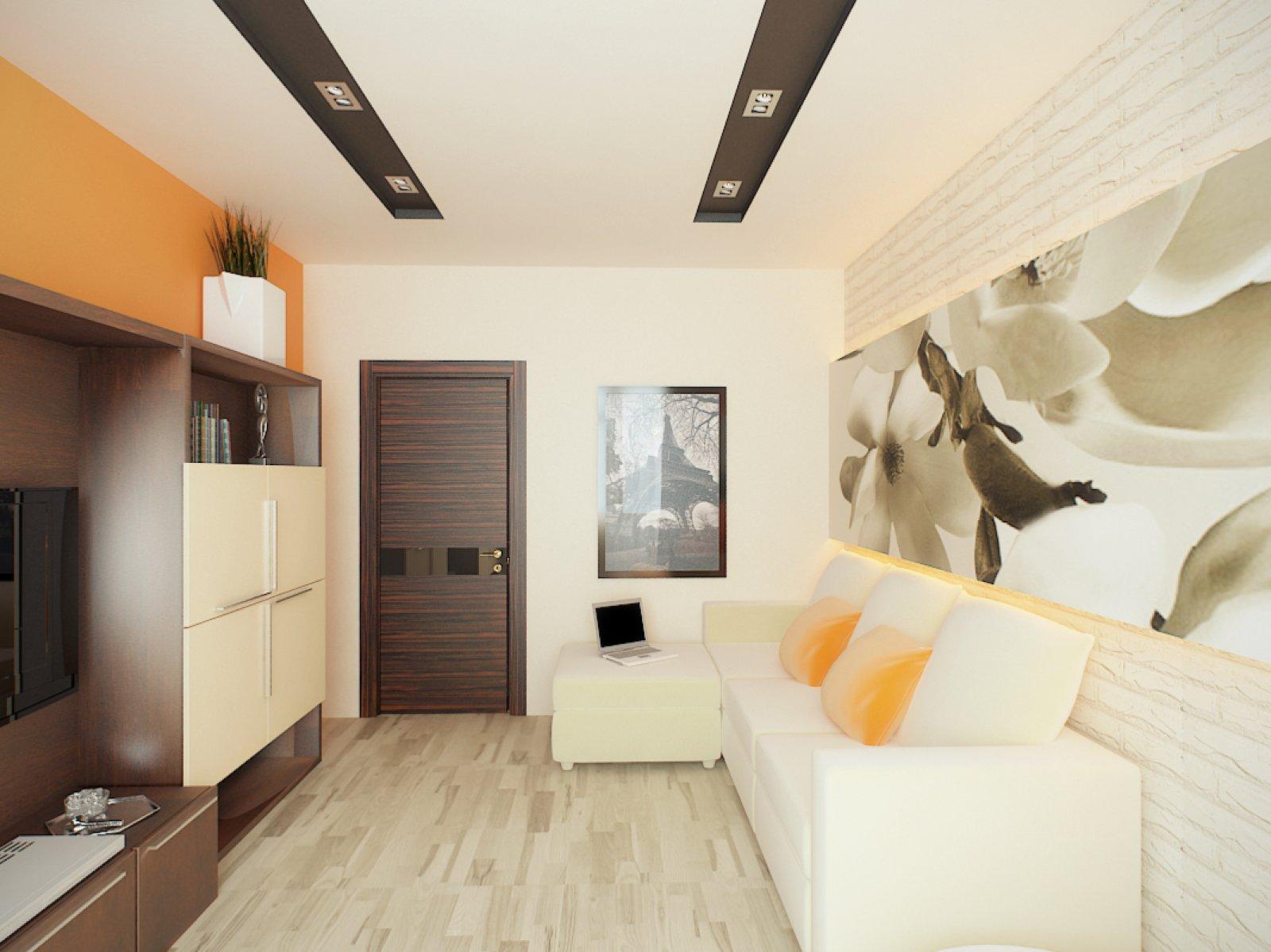 Дизайн в однокомнатной квартире 55 кв метра