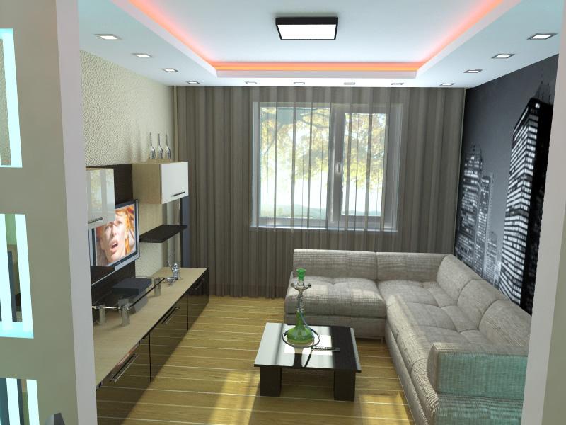 Дизайн гостиных в малогабаритной квартире