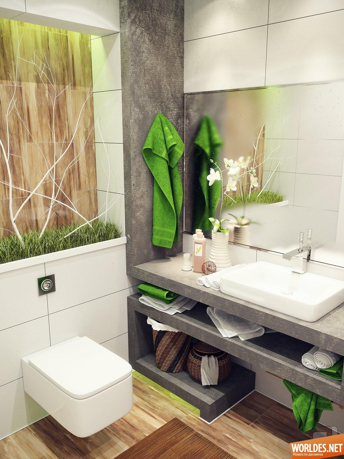 Идеи интерьера для ванной фото
