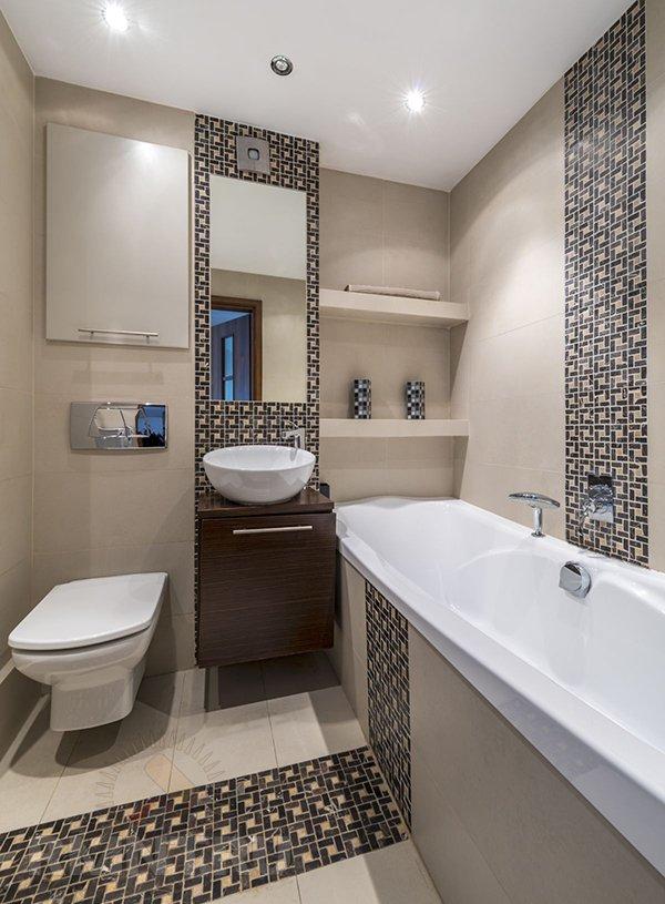 Ванная и туалет современный дизайн