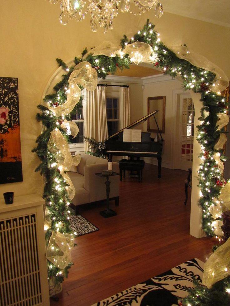 Новогодний декор комнаты своими руками фото