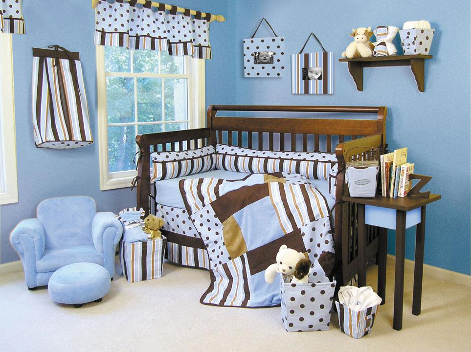 Украшение кроватки детской