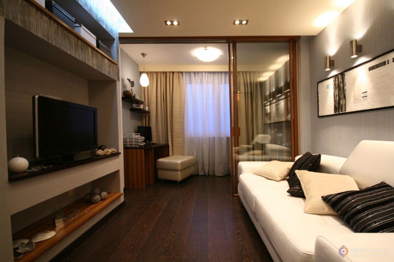 Дизайн спальни-зала 16 кв м
