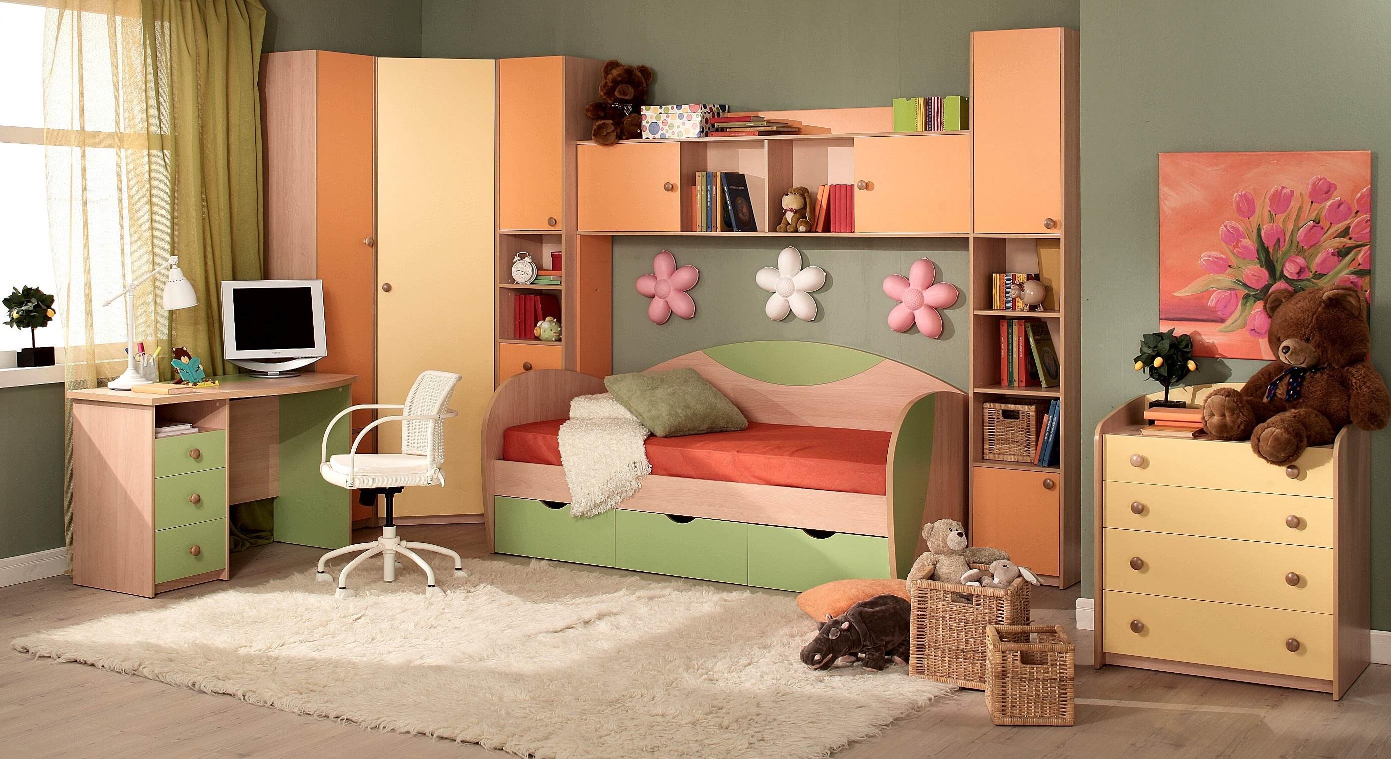 """Мебель в детской комнате фото """" современный дизайн."""