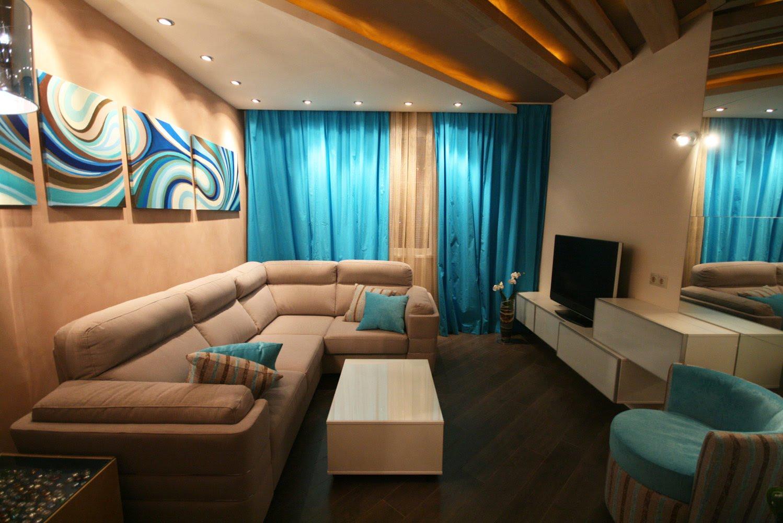 Прямоугольная комната в хрущевке дизайн