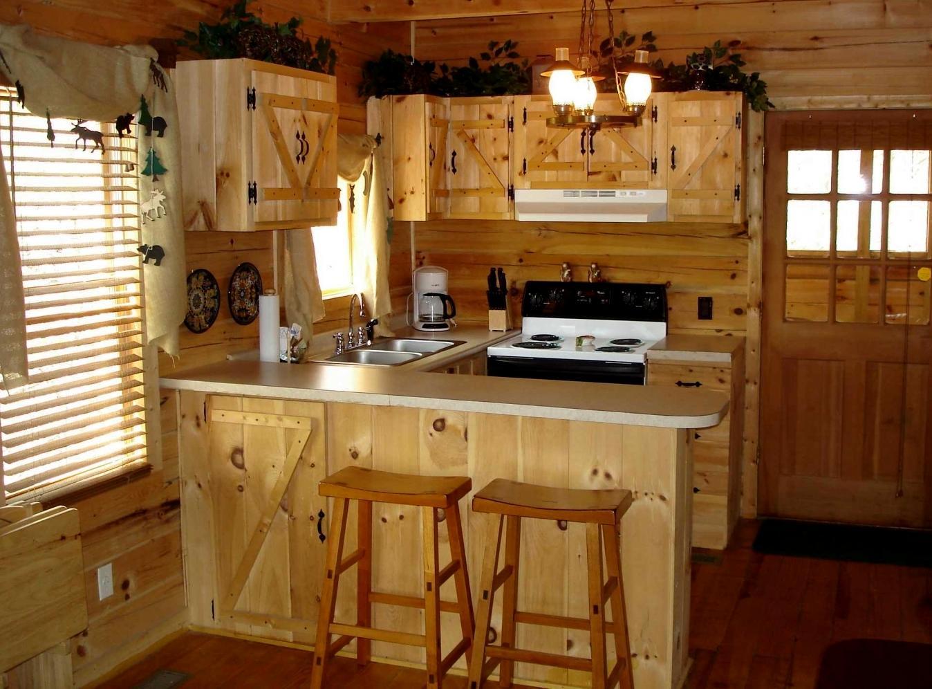 Кухонная мебель своими руками в деревенском стиле