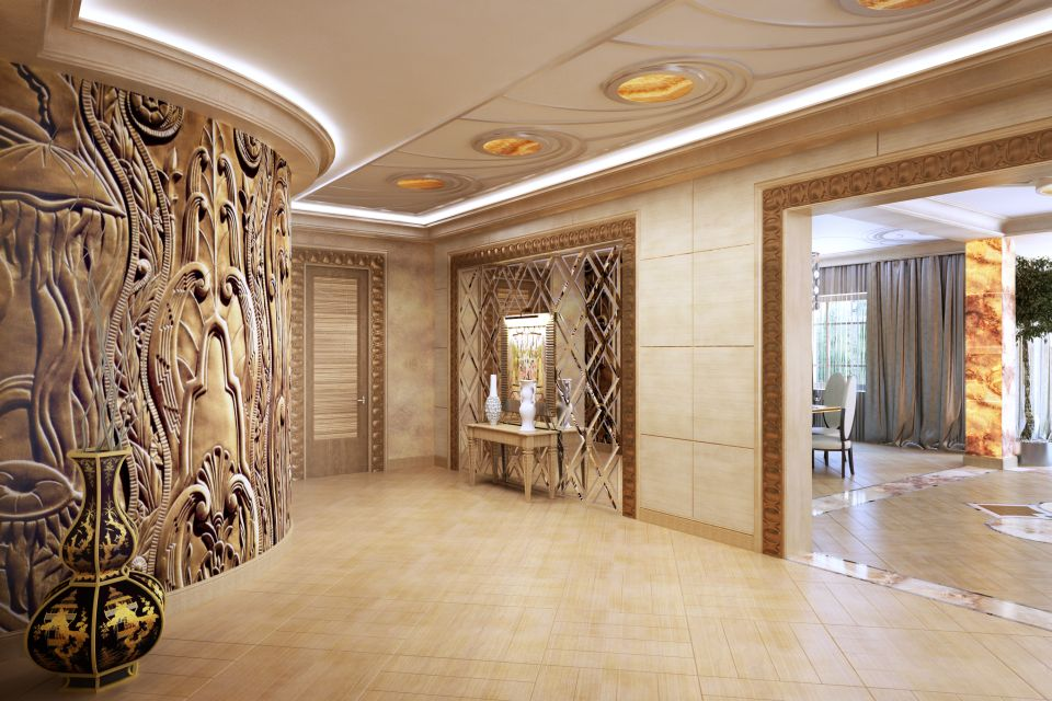 Холла дизайн интерьера