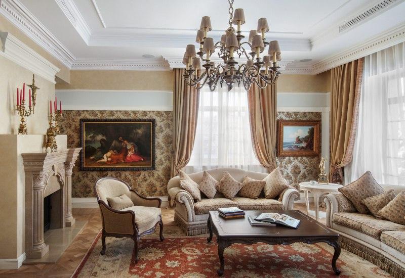 Дизайн домов классика фото