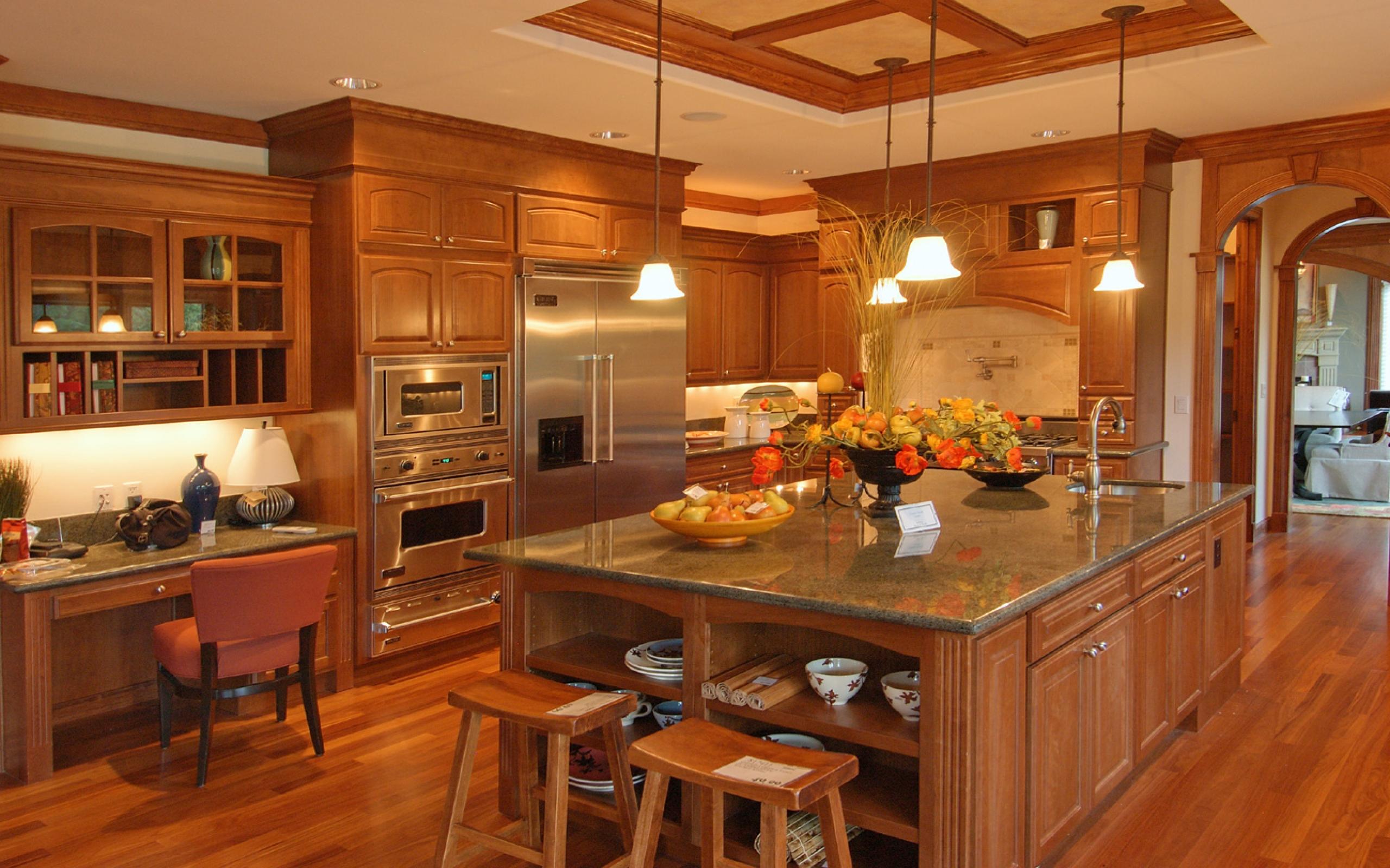 Интерьеры кухни. фото