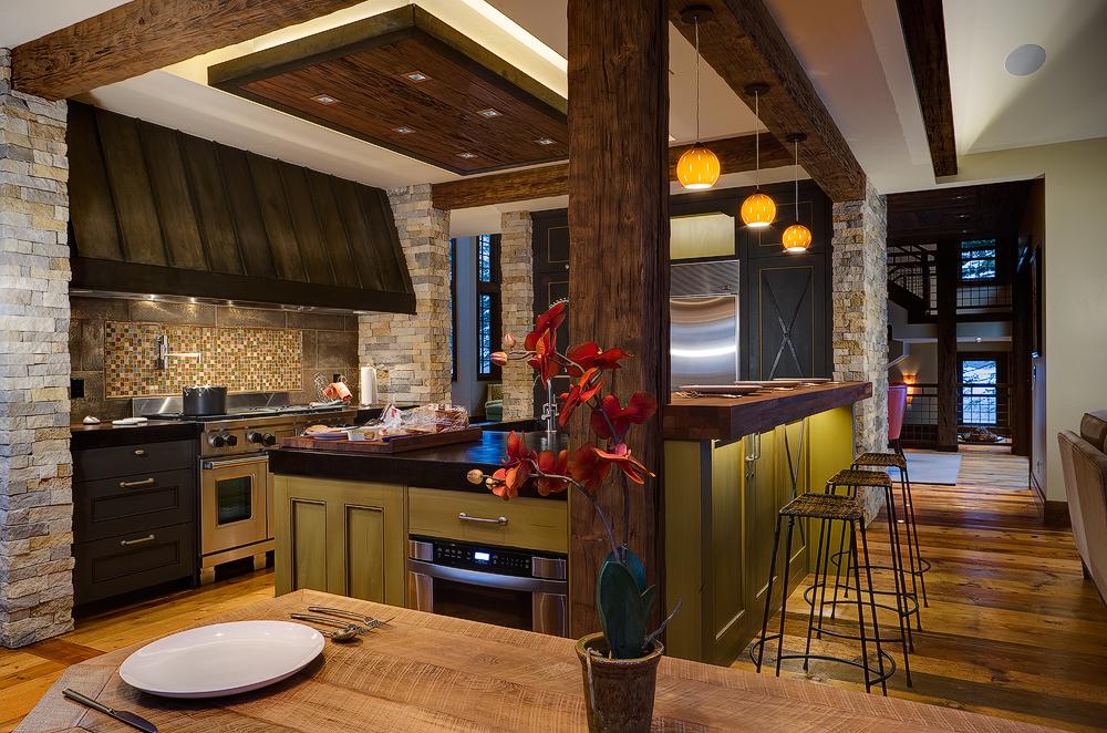 Внутренняя отделка кухни фото 2015 современные идеи