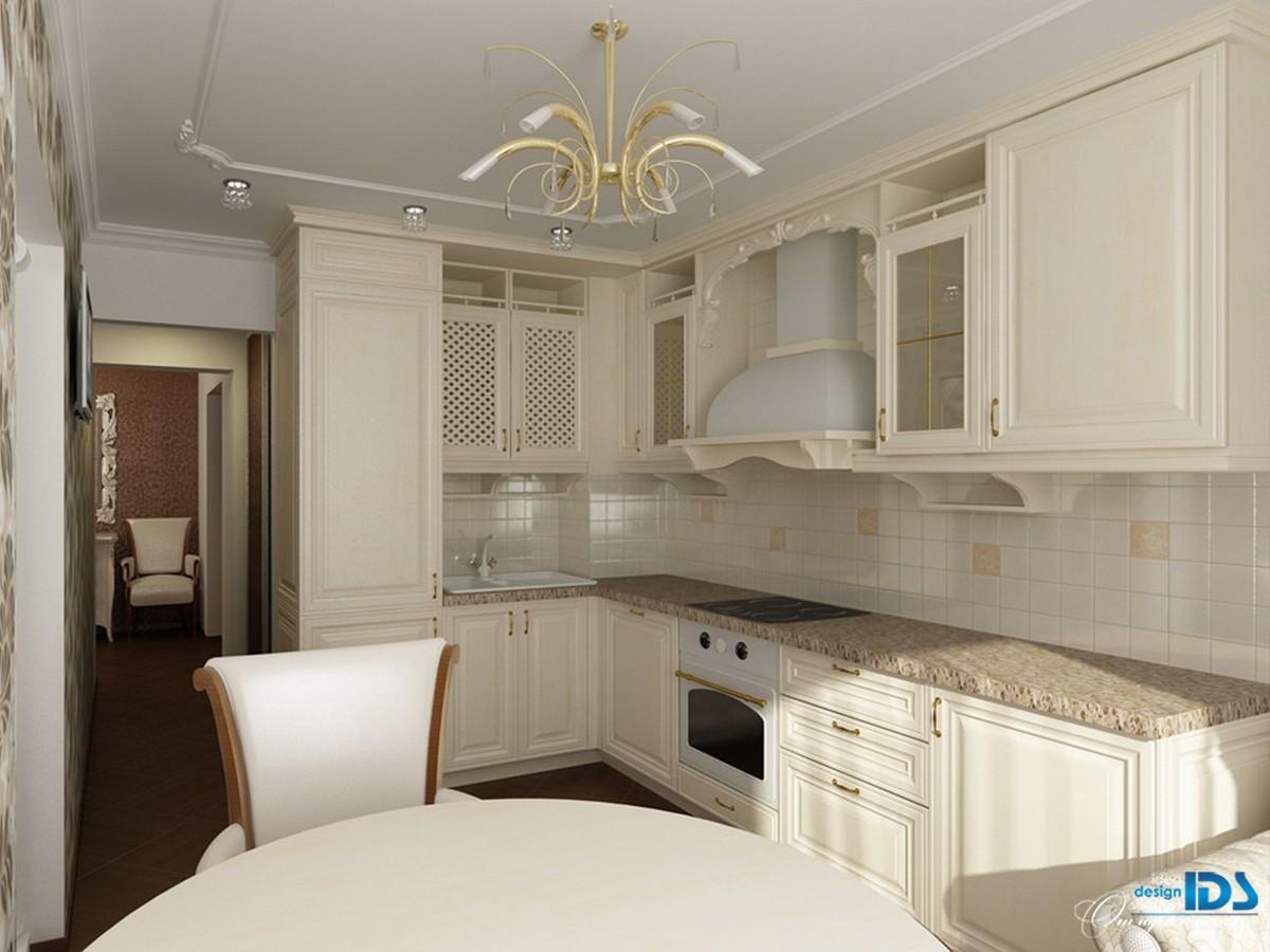 Дизайны квартир классический