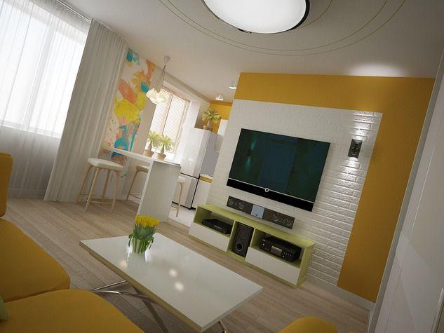 Дизайн в хрущевке двухкомнатной квартиры
