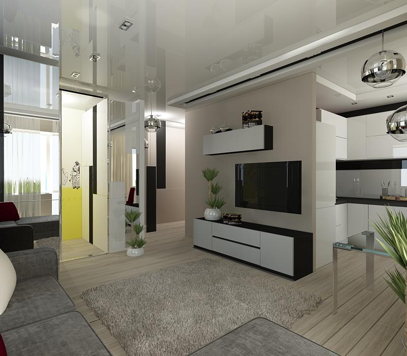 Дизайн хрущевок 1 комнатных квартир