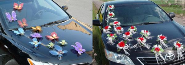 Украсить машины своими руками на свадьбу