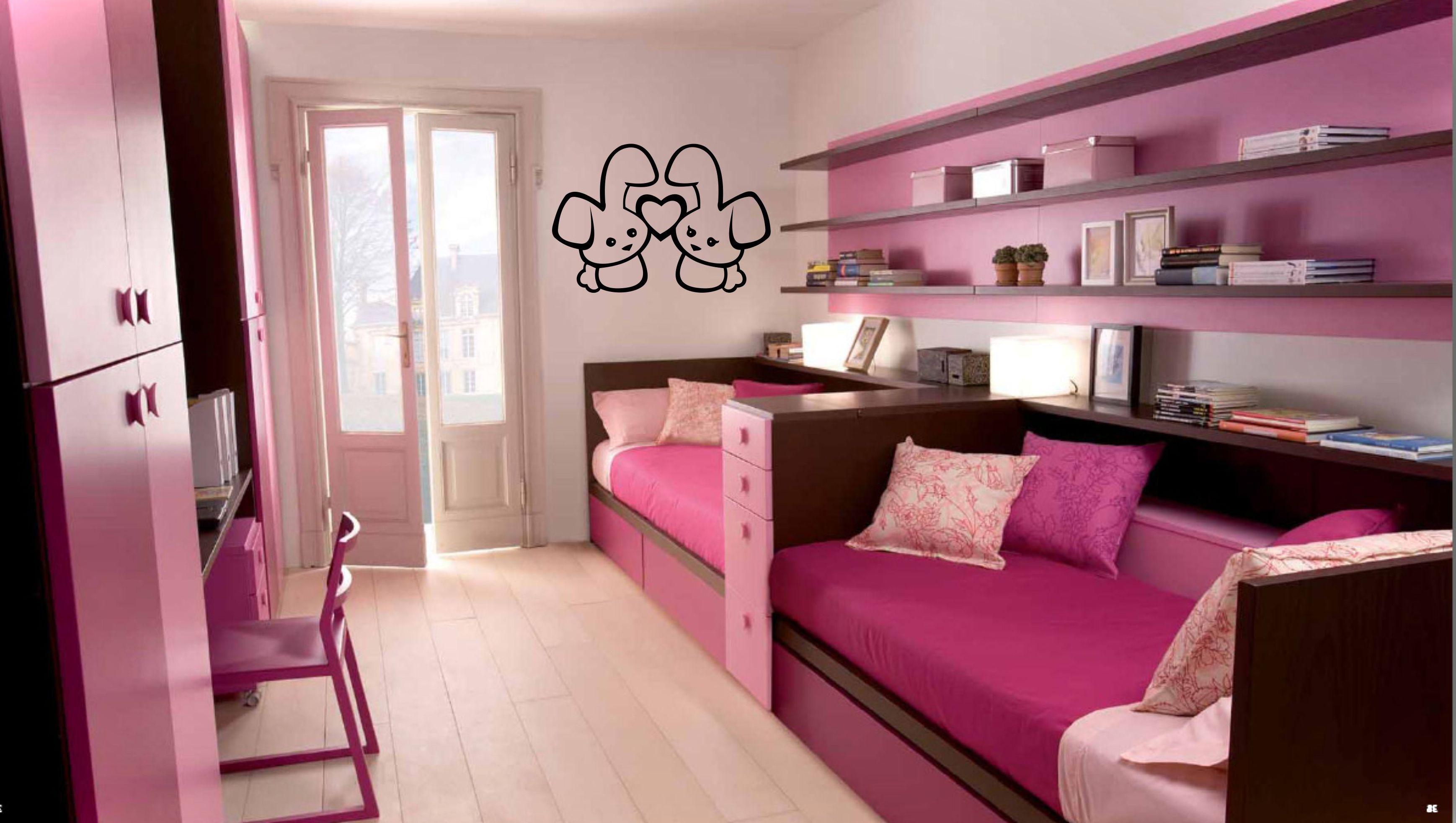 Дизайн узких комнат для двоих детей