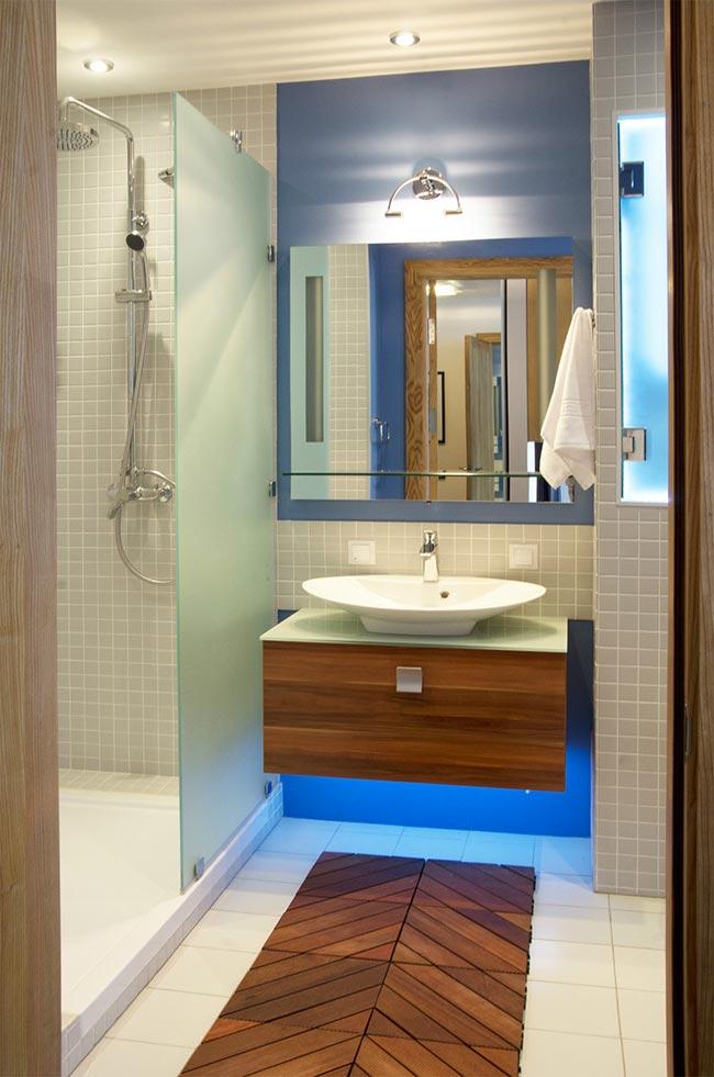 Дизайн ванной комнаты 3.2 кв. м