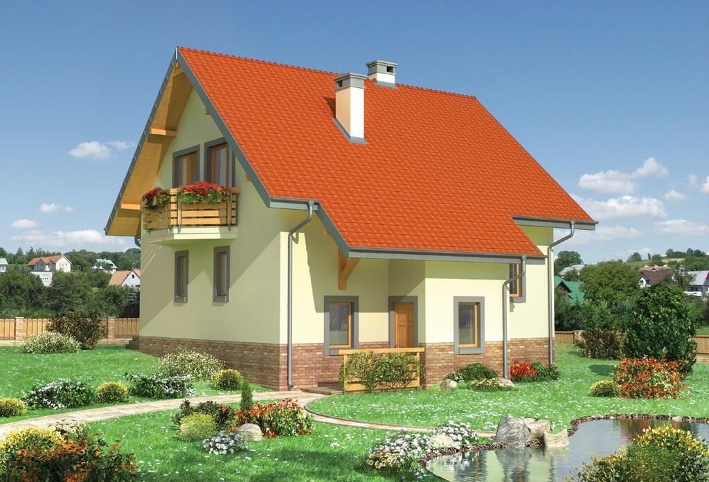 Готовые бесплатные проекты домов из пеноблоков