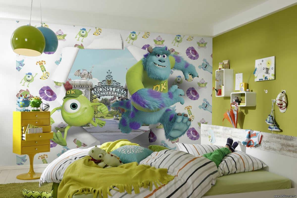Фотообои в детскую комнату одесса