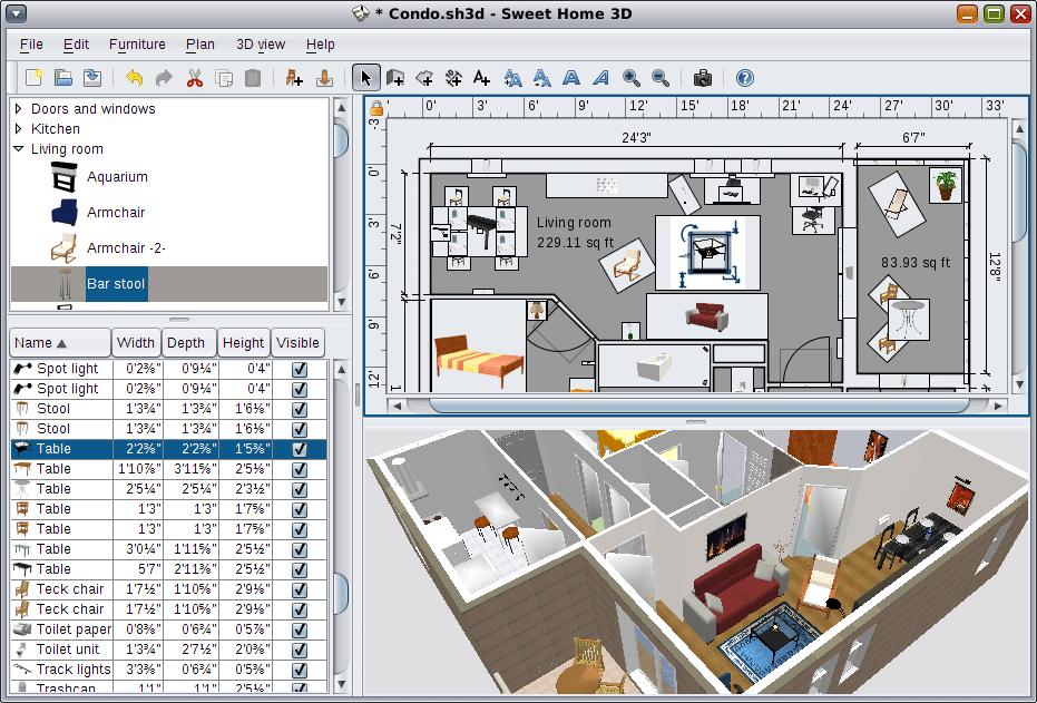Программа для рисования плана квартиры