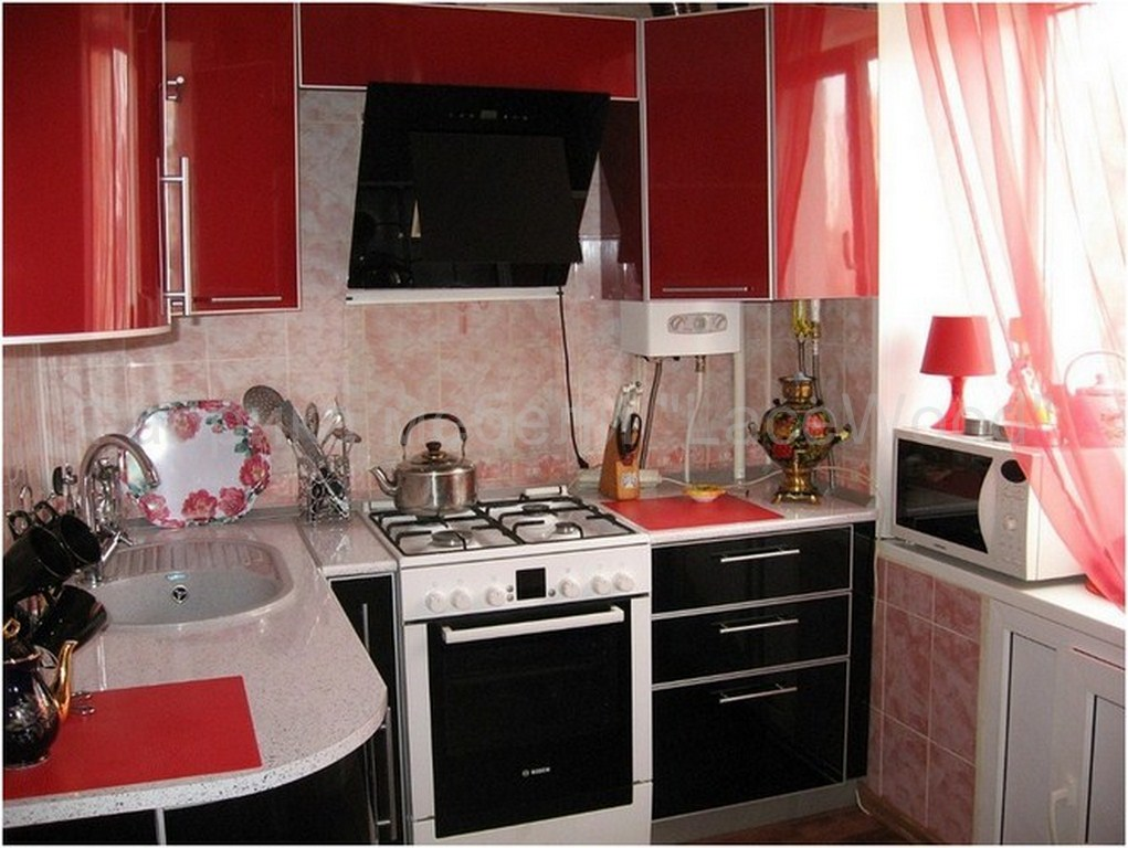 Дизайн хрущевских кухни