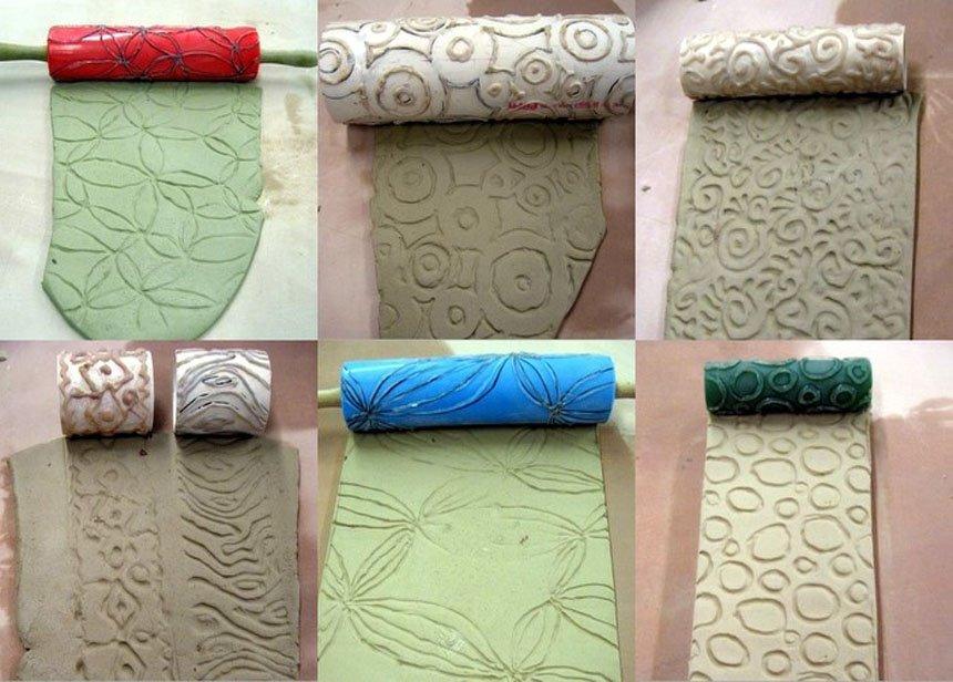 Валики для декора стен своими руками