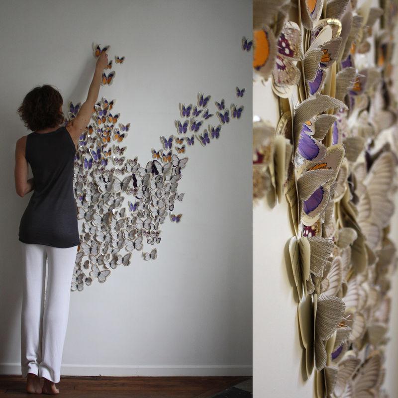 Декорация стены своими руками