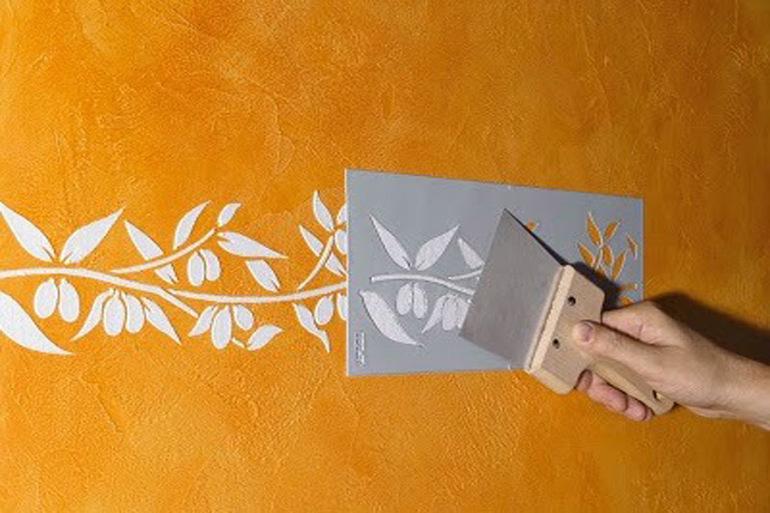 Как сделать трафарет для стен своими руками пошаговая инструкция