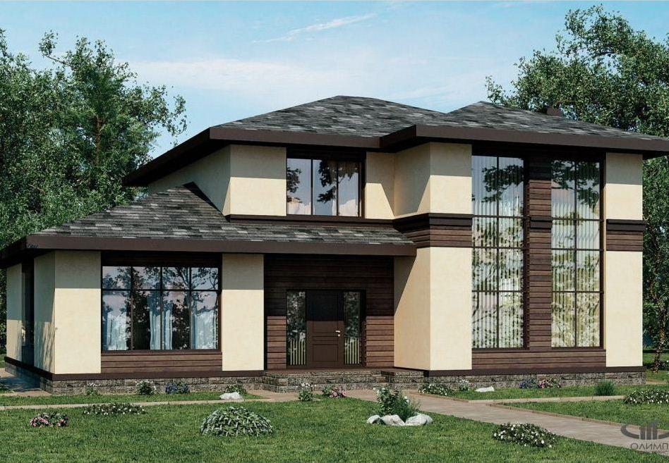 Дизайн проект коттеджа дома