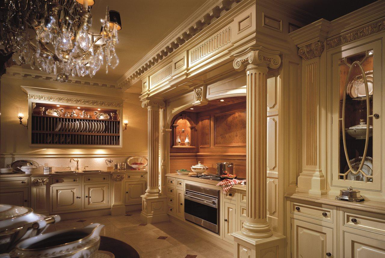 Дизайн кухни в стиле барокко