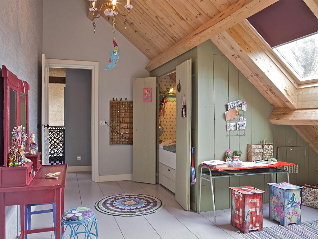 Дизайн дома в деревне внутри