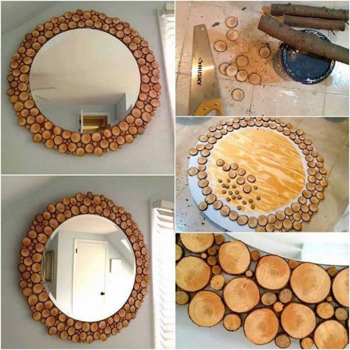 Декор своими руками из дерева фото