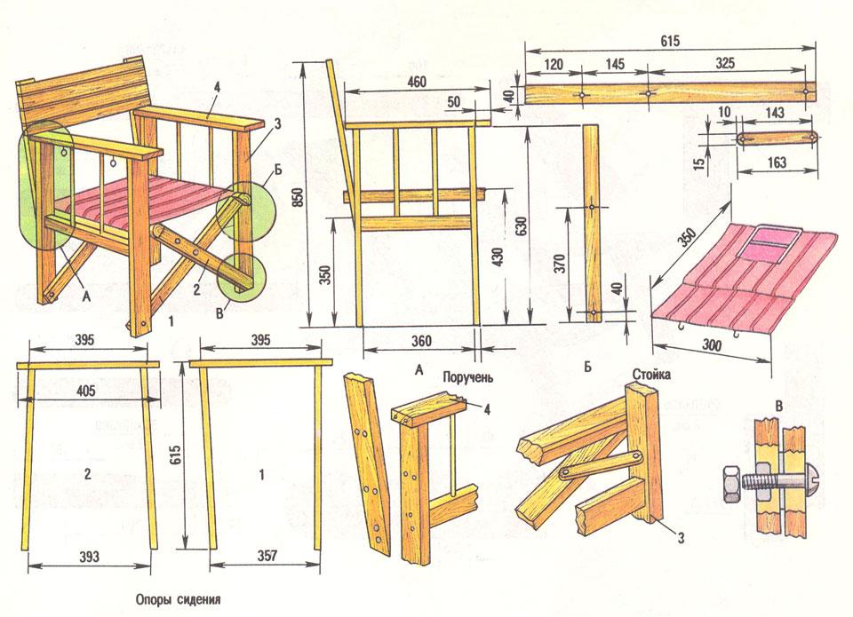 Чертежи мягкой мебели с размерами
