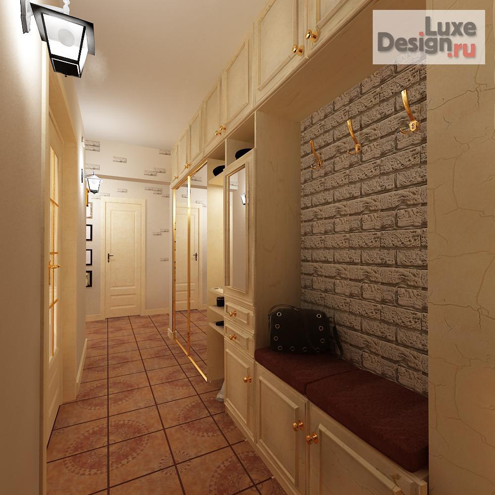 Дизайн 2 х комнатной квартиры 137 серии.