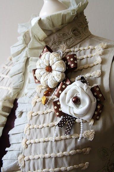"""Декоративные украшения для одежды своими руками """" Современный дизайн"""