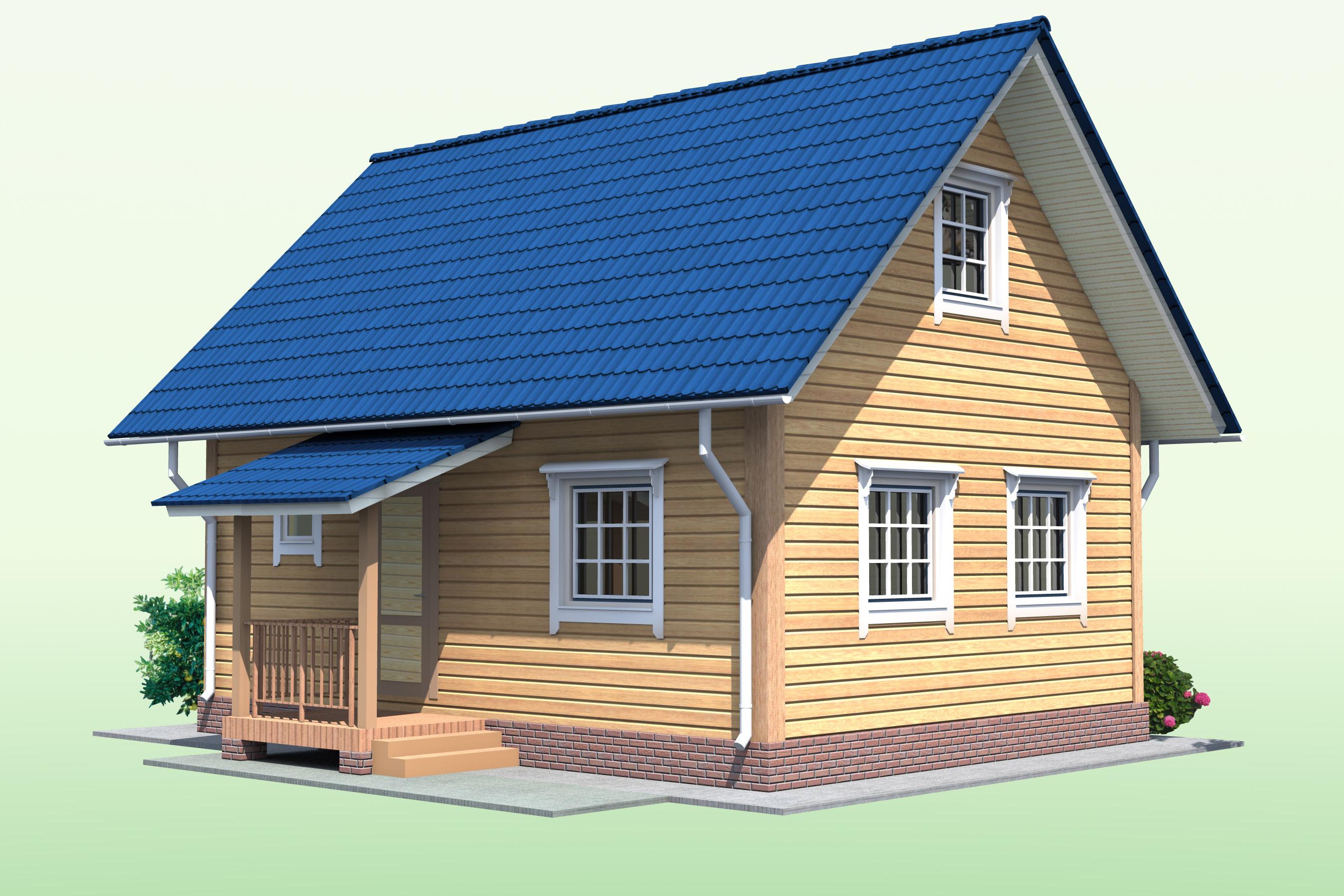 План дома с мансардой фото