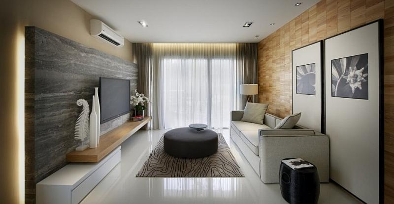 Дизайн интерьера гостинной в современном стиле фото