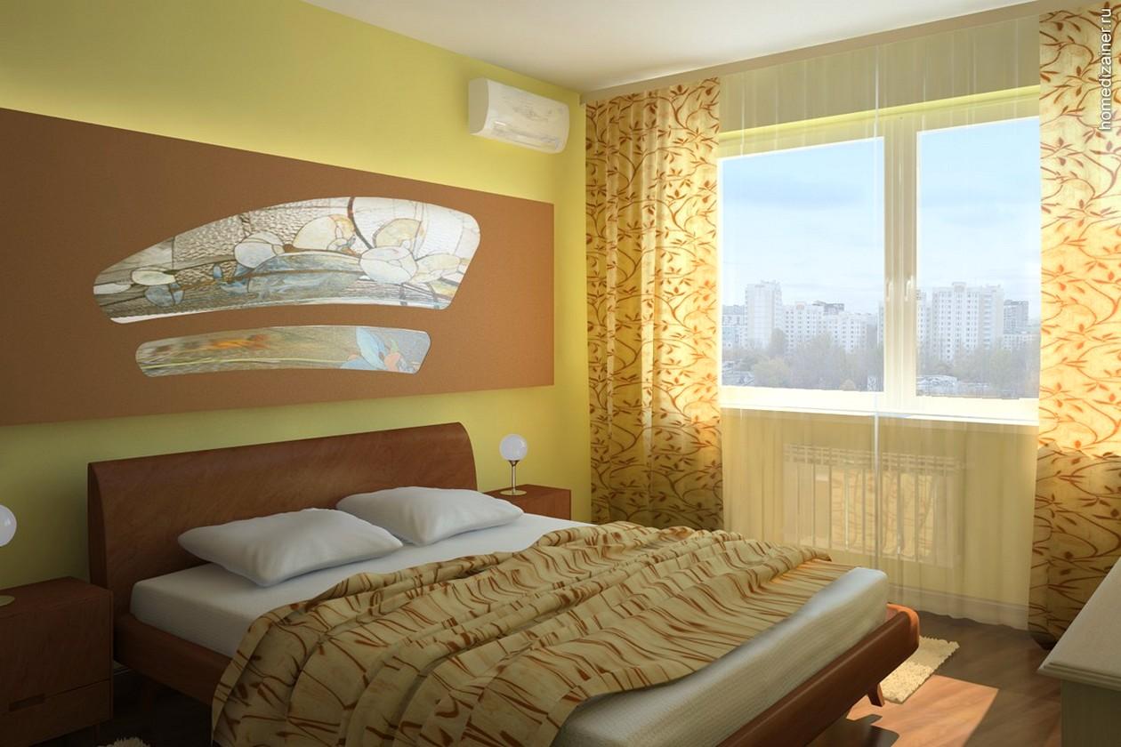 Желтая спальня (65 фото): спальня в желтых тонах, желтый цве.