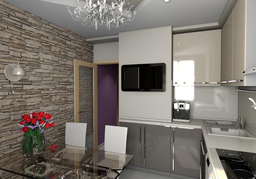 Дизайн квартир серии п 3