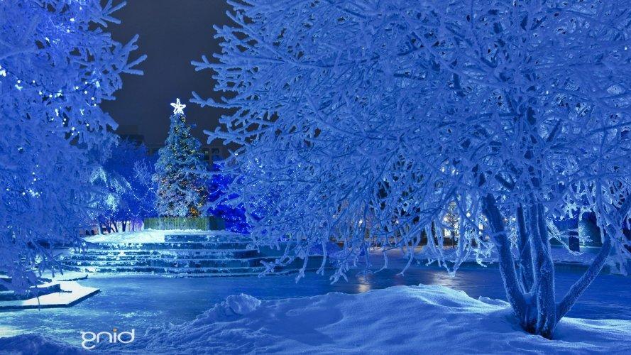 Красивые зимние новогодние фоны  картинки для фотошопа