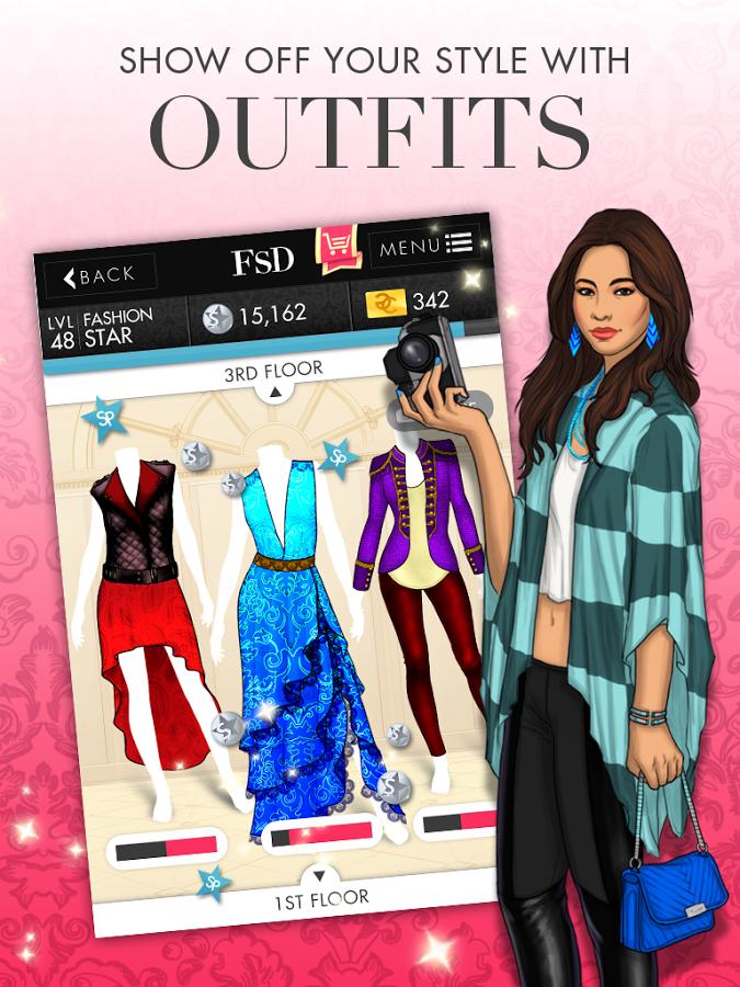 Игра дизайн одежды дизайн мода