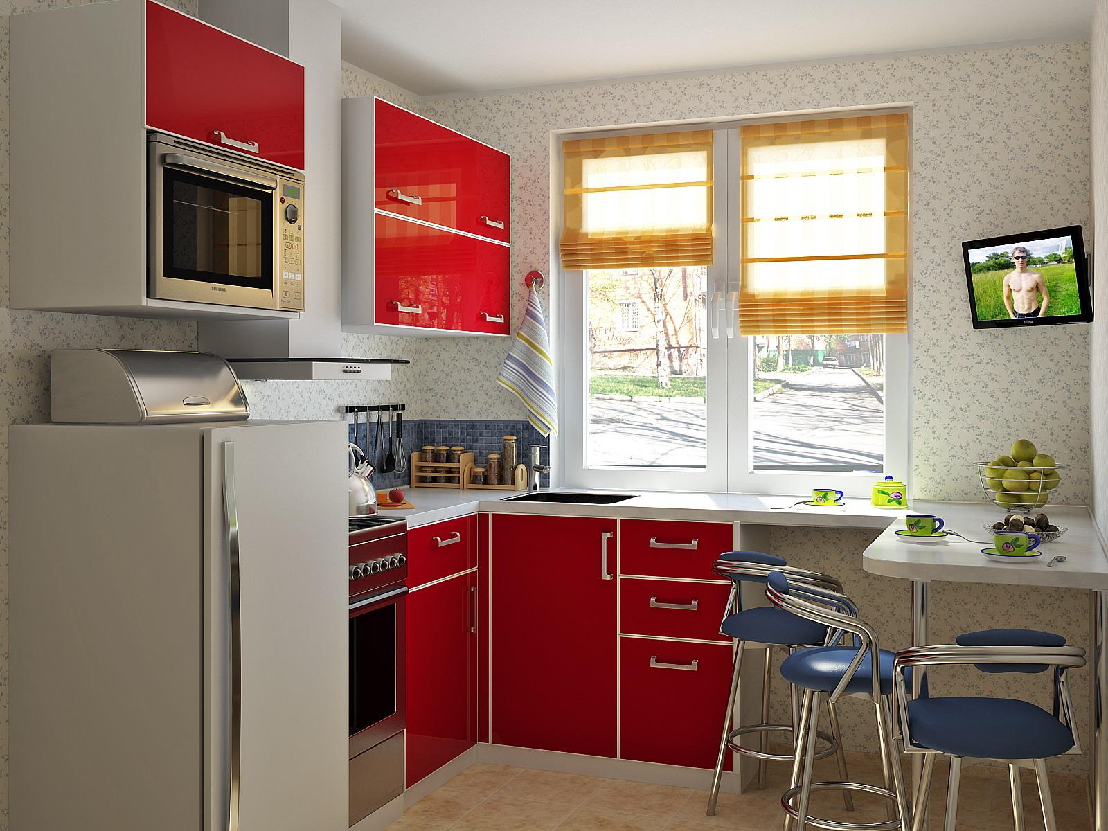 Кухни фото на маленькую кухню
