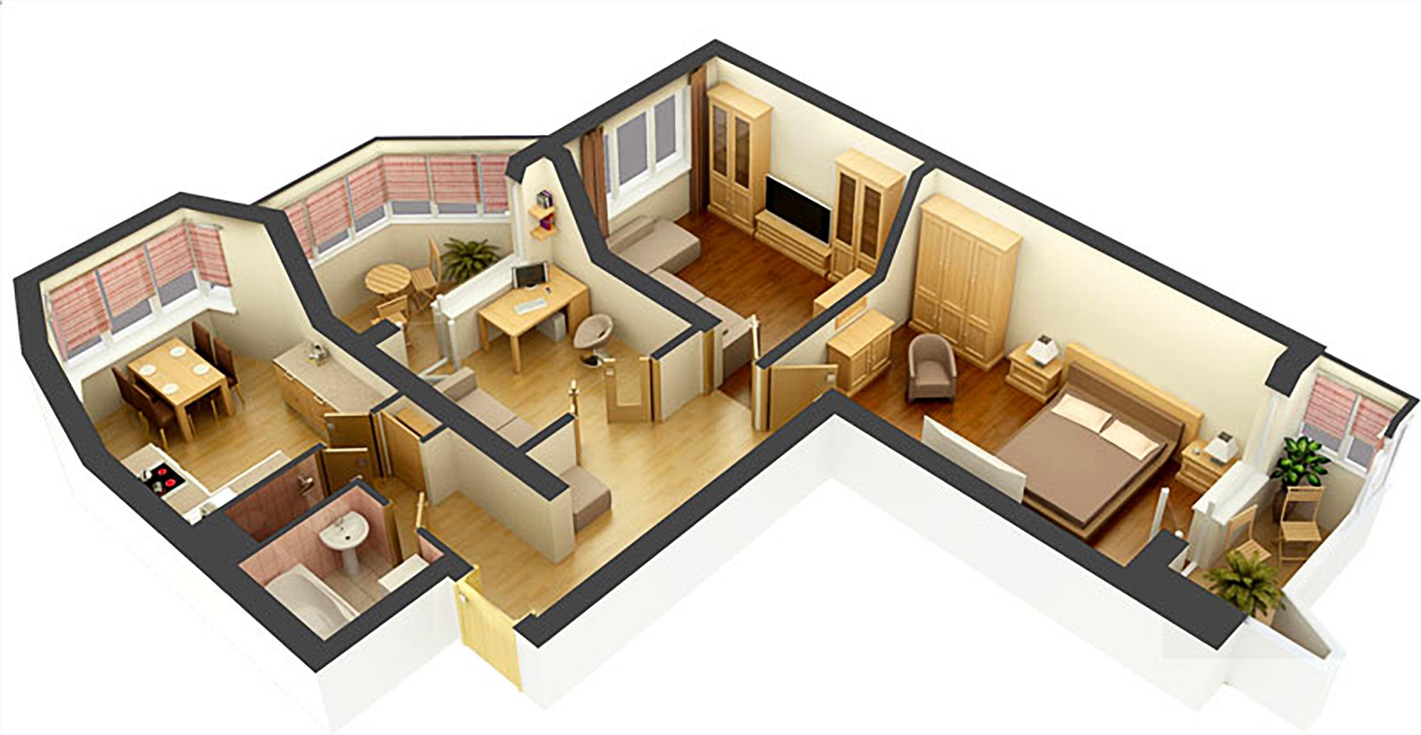 Дизайн и проекты квартир их