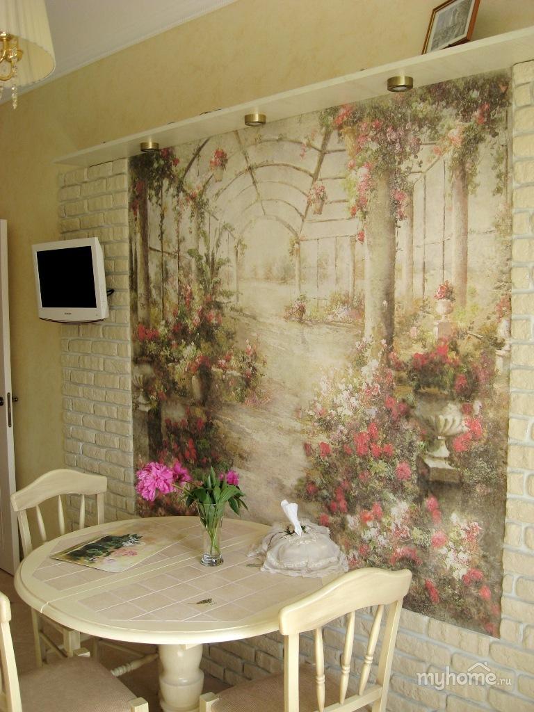 Декор кухонных стен