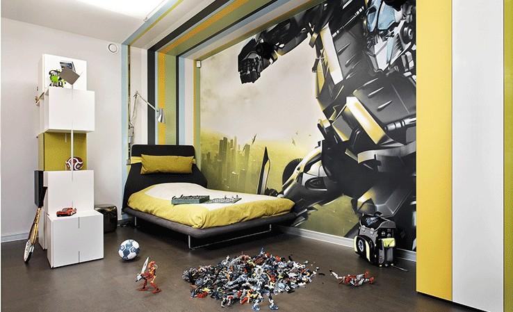 Дизайн для подростковой комнаты для мальчика