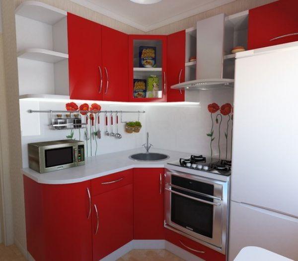 Кухня 5 квадратных метров фото в хрущевке с колонкой фото