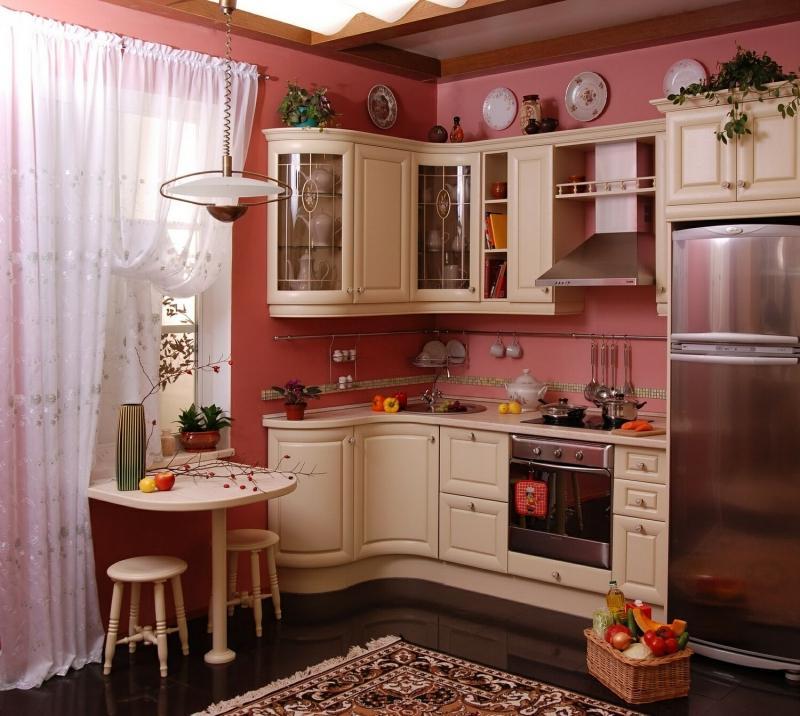 Красивый дизайн для небольшой кухни